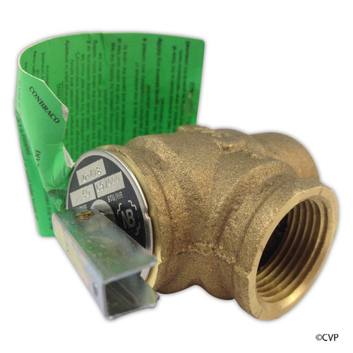 Pentair | MasterTemp Heater Water System | MAX-E-THERM HEATER WATER SYSTEM | Pressure Relief Valve | 473715Z