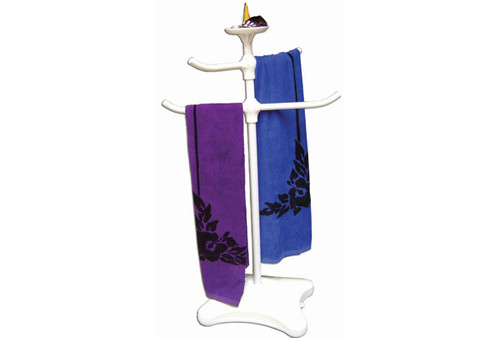 Oreq Corp   TOWEL TREE WITH TOP TRAY   Z225