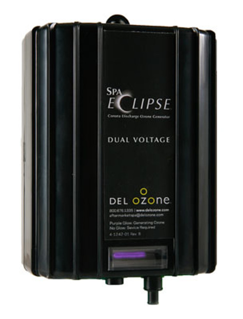 Del Ozone   OZONE GENERATOR   SPA-ECLIPSE CD 220V-50HZ WITH 4 PIN AMP CORD   ECS-1RPAM-240/50