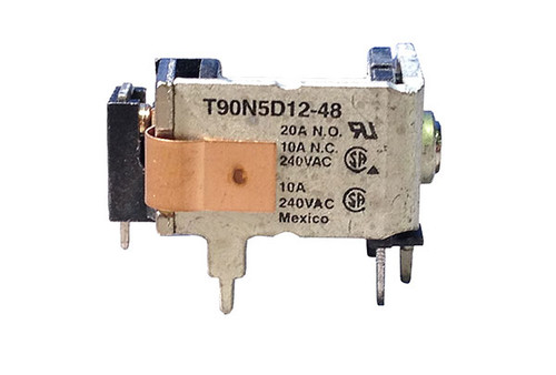 Tyco Electronics   RELAY   PCB 48VDC SPDT 20A   T90N5D12-48