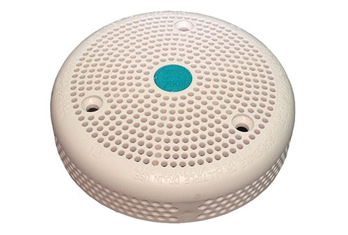 """Aqua Star   SUCTION COVER   4"""" OUTLET WITH SCREWS WHITE   4HP101"""