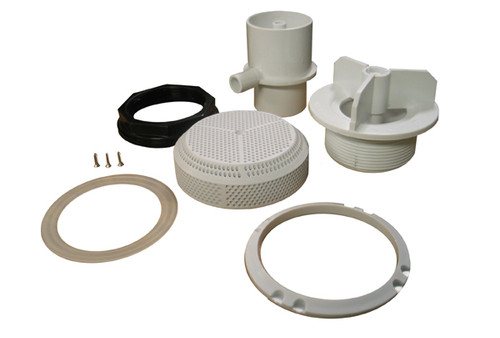 """Balboa Water Group   SUCTION FITTING   VGB 211 GMP 2"""" WHITE   90145-WH"""