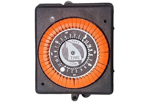 Intermatic   TIME CLOCK   220V 20A 60HZ 24HR 4 LUG ORANGE   PB914N50-ORANGE
