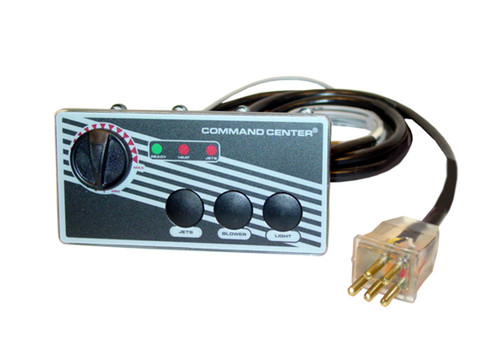 Tecmark (TDI) | TOPSIDE | COMMAND CENTER - 3-BUTTON - 120V - 10' - WITHOUT DIGITAL DISPLAY | CC3-120-10-1-00