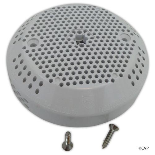 "Balboa Water Group/GG   Suction Cover, 3 3/4"",White, 124 GPM(VGB 2008)   30173U-WHT"