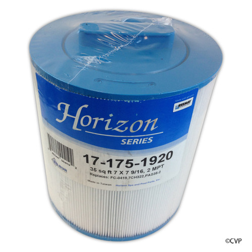 "Horizon Series by Filbur | Cartridge,35sqft,ht,2""MPT b,7"",7-9/16""3oz | FC-0419"