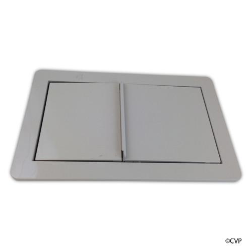 Jacuzzi®Whirlpool Bath | JWB Skimmer/Wier Frame Assy Silver | 6639945