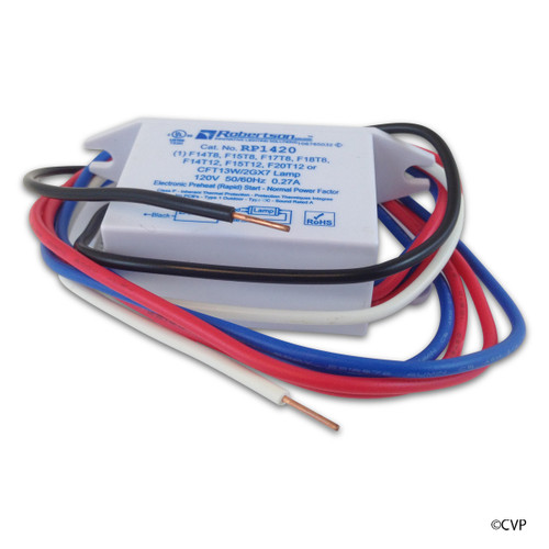 Ultra Pure Water Quality | Repl.Transformer + Starter UPP15-UPS350/500/800 120V | 1008030