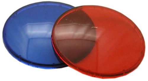 "WATERWAY   LENS KIT FOR WATERWAY 2 1/2"" HOLE SIZE RED & BLUE LENS 3 1/2"" LENS DIAMETER   9185-38G"