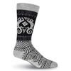 Men's Laurel Burch Lizard Shapes Crew Socks