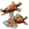 Red Back Sea Turtles on Coral