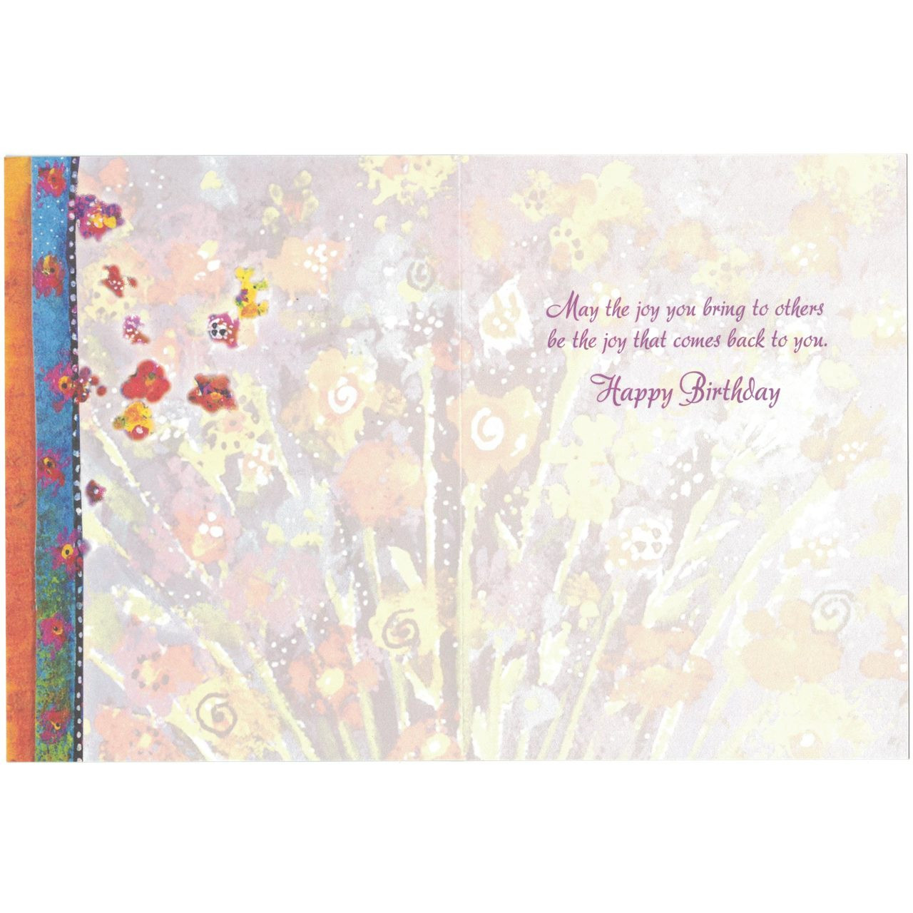 Laurel Burch Birthday Card