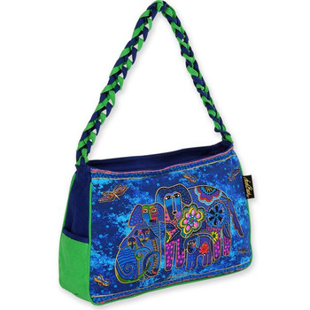532ff064a4 Laurel Burch Canine Family Medium Hobo Bag - LB4853 ...