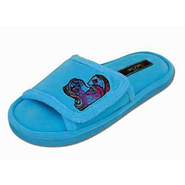 "Laurel Burch Slippers ""Aquatic Mares"" Horse - LB1080"