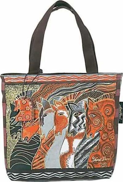Laurel Burch Moroccan Mares Horse Small Handbag  -  LB2013