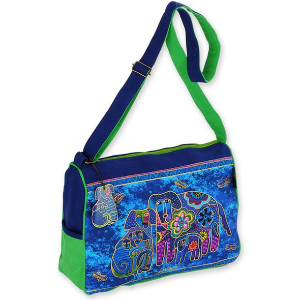 Laurel Burch Canine Family Medium Bag - LB4852
