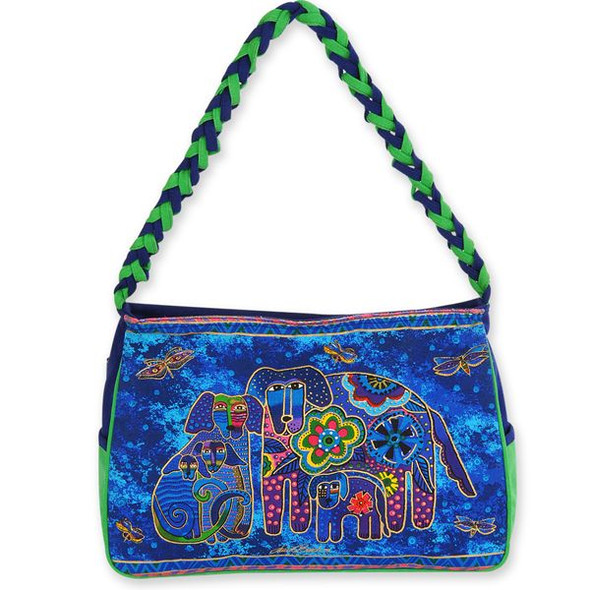 Laurel Burch Canine Family Medium Hobo Bag - LB4853