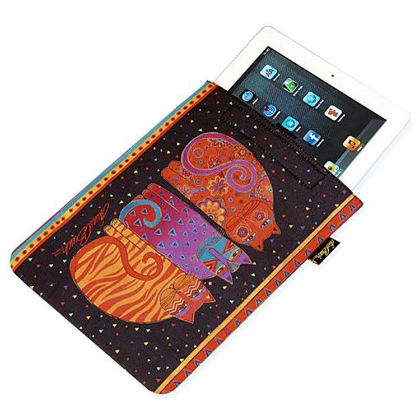 "Laurel Burch Tablet Computer Case ""Feline Friends"" - LB5200F"