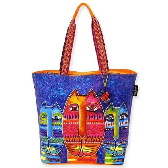 Laurel Burch Three Amigos Shoulder Tote Bag LB5260