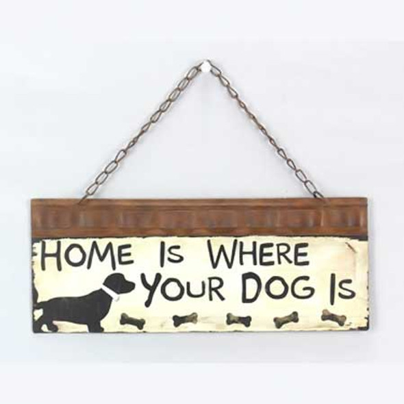 Where Your Dog Is Wall Sign 13781
