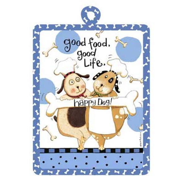 Happy Dog Pot Holder R2642
