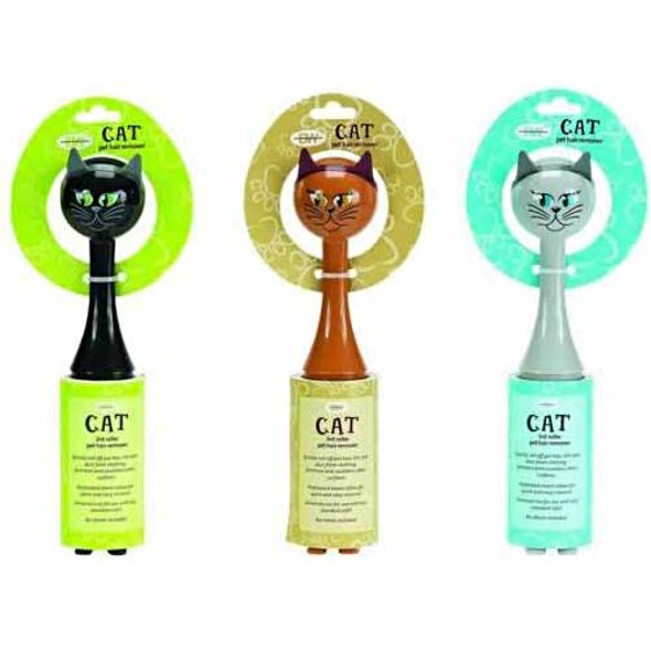 Cat Theme Lint Brush Remover Roller 70191