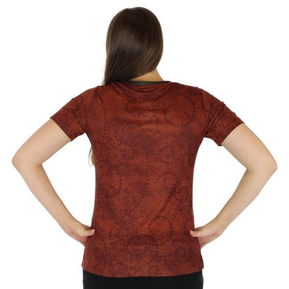 Laurel Burch Tee Shirt Morocan Mares LBT036