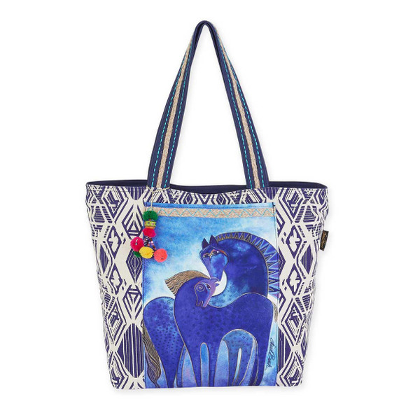 Laurel Burch Indigo Mares Shoulder Tote Bag LB5590