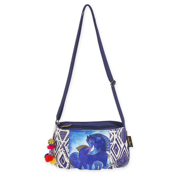 Laurel Burch Indigo Mares Small Crossbody Tote LB5593