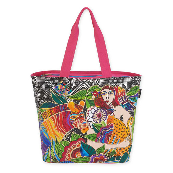 Laurel Burch Earth Song Shoulder Tote LB5620