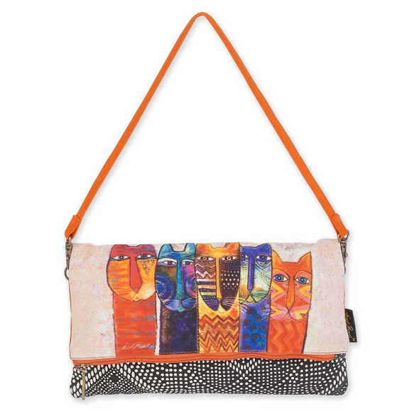 Laurel Burch Long Necks Flap Clutch LB5750E