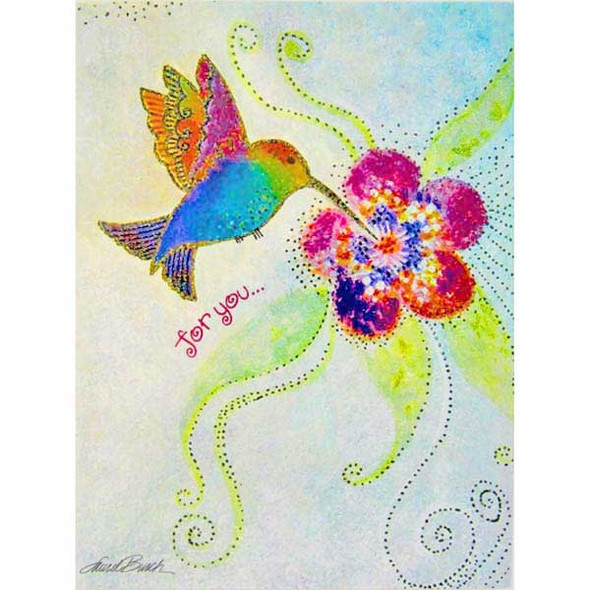 Laurel Burch Birthday For You Card BDG10873