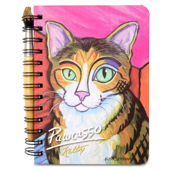 Kitty Pawcasso Cat Journal Notebook 5x7 12085
