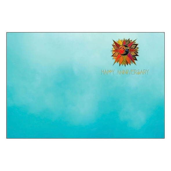 Laurel Burch Anniversary Card: Forever and always AVG17046