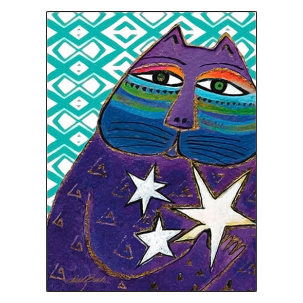 Laurel Burch Shines Like You Stellar Birthday Card BDG17045