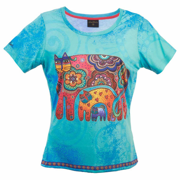 Laurel Burch Tee Shirt Daughter Mikayla Mermaid