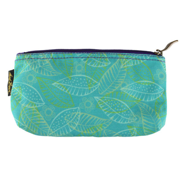 Laurel Burch 9x5 Cosmetic Bag Colorful Flora Floral LB5824B
