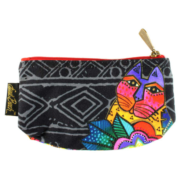 Laurel Burch 7x4 Cosmetic Bag Mara Cat LB5854A