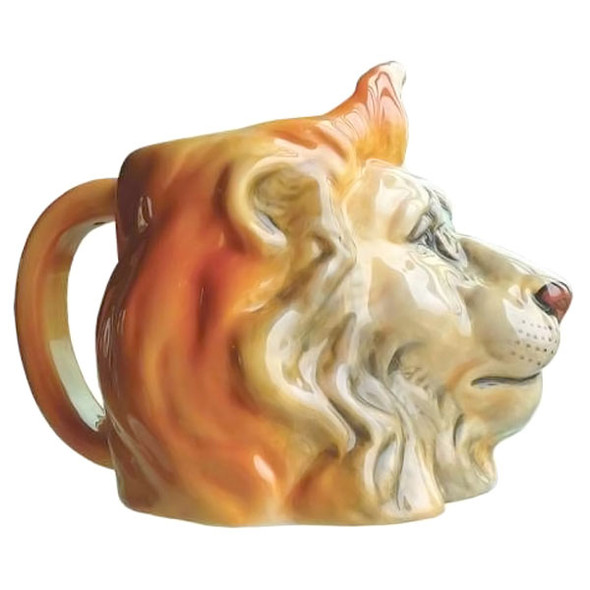 Lion Wild King Sculpted 16oz Mug - 13267