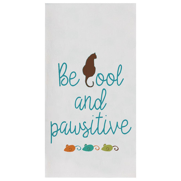 Be Cool Cats Life Flour Sack Towel R3783
