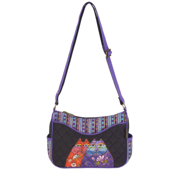 Laurel Burch Two Wishes Quilted Small Crossbody Tote - LB6002