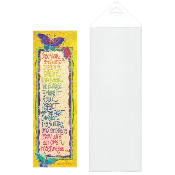 Laurel Burch Bookmark Colorful Butterflies Dream