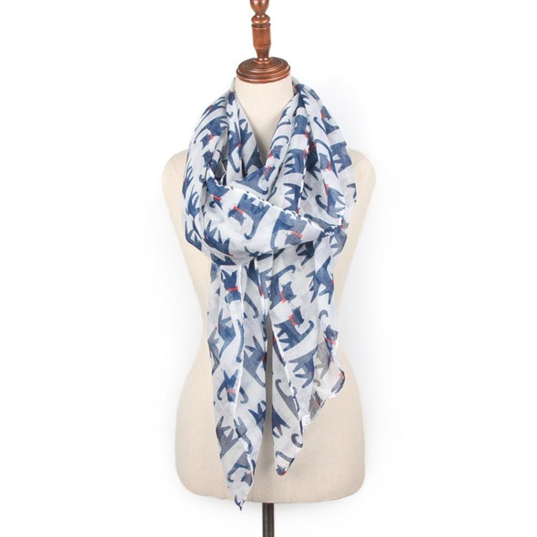 Walking Cats Scarf - CC104