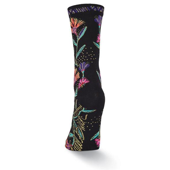 Laurel Burch Wild Flower Crew Socks LBWF17H002
