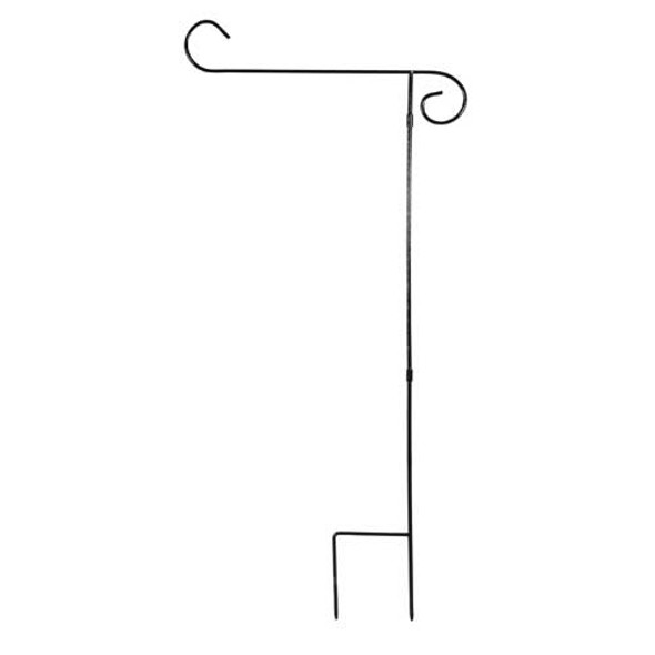 3 Piece Metal Garden Flag Stand 437299