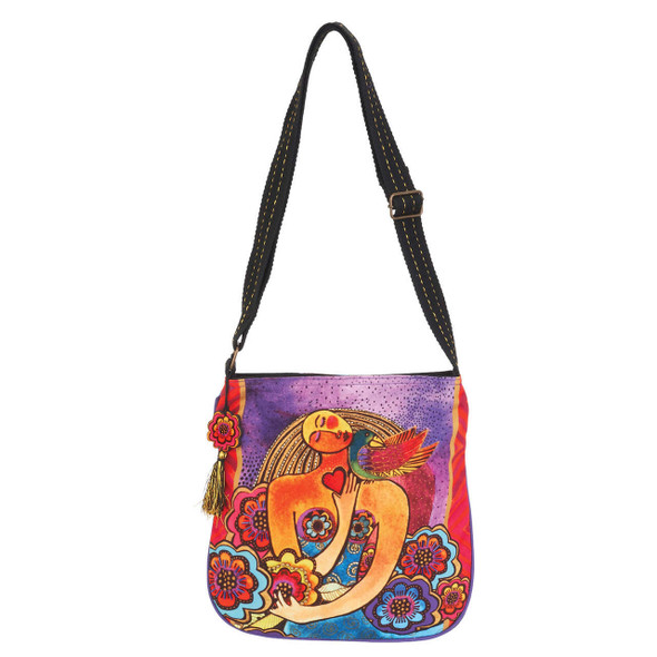 Laurel Burch Light of Your Life Crossbody Tote
