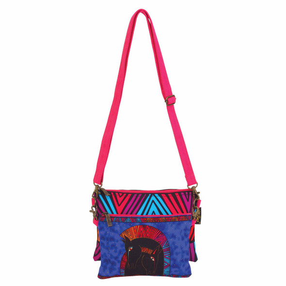 Laurel Burch Embracing Horses Two Piece Crossbody Tote - LB6551E