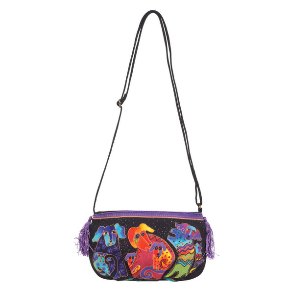 Laurel Burch Dogs Doggies Crossbody Bag LB5552J