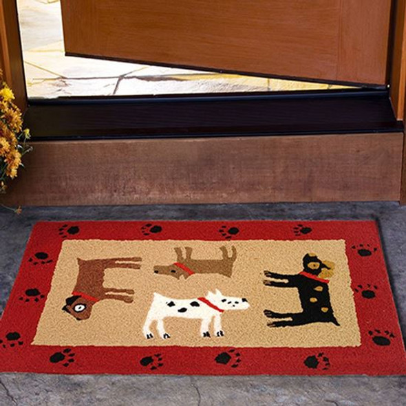 Four Friends Dogs - Floor Rug JB-SPM037