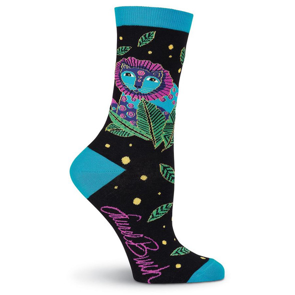 Women's Laurel Burch Wild Ones Crew Socks  LBWS19H201-01